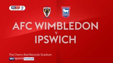 AFC Wimbledon 0-0 Ipswich