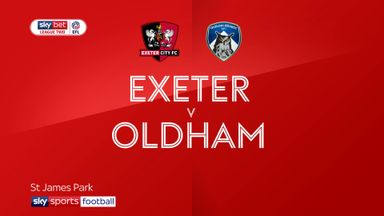 Exeter 5-1 Oldham