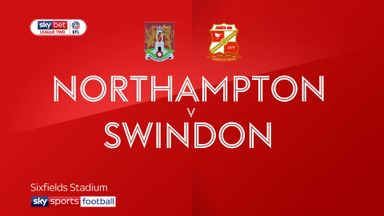 Northampton 0-1 Swindon