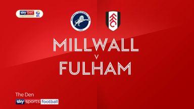 Millwall 1-1 Fulham