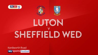 Luton 1-0 Sheffield Wed