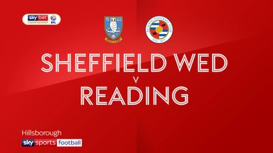 Sheff Wed 0-3 Reading