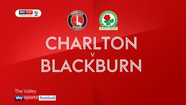 Charlton 0-2 Blackburn