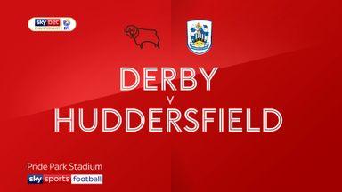 Derby 1-1 Huddersfield