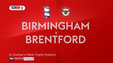Birmingham 1-1 Brentford