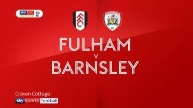 Fulham 0-3 Barnsley