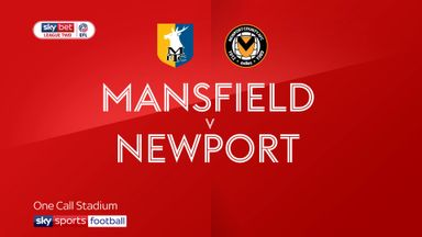 Mansfield 1-0 Newport