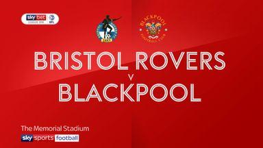 Bristol Rovers 2-1 Blackpool