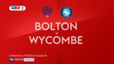 Bolton 0-2 Wycombe