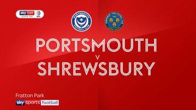 Portsmouth 2-0 Shrewsbury