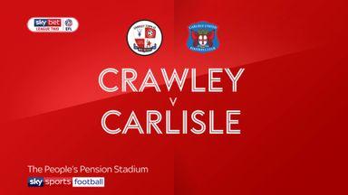 Crawley 0-0 Carlisle