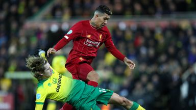 HT: Norwich 0-0 Liverpool