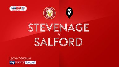 Stevenage 0-1 Salford