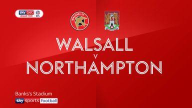 Walsall 3-2 Northampton