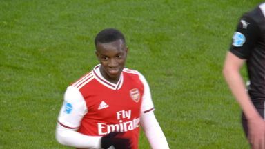 Nketiah tries his luck (37)