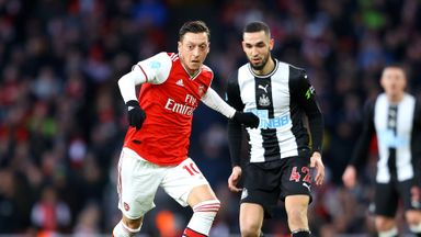 HT Arsenal 0-0 Newcastle