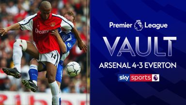 PL Vault | Arsenal 4-3 Everton (2002)