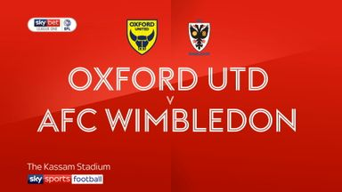 Oxford 5-0 Wimbledon