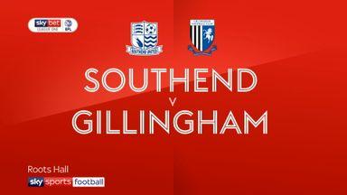 Southend 0-1 Gillingham