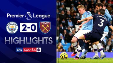 De Bruyne shines in City victory