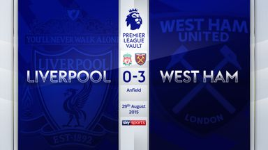PL Vault | Liverpool 0-3 West Ham (2015)