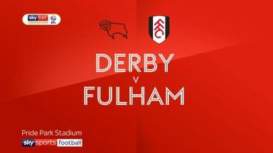 Derby 1-1 Fulham