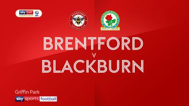 Brentford 2-2 Blackburn