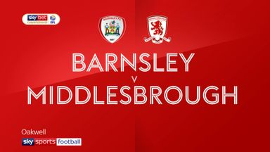 Barnsley 1-0 Middlesbrough