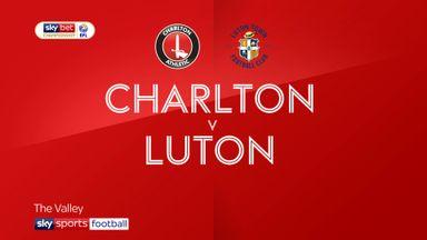 Charlton 3-1 Luton