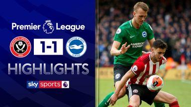 Sheff Utd held by Brighton