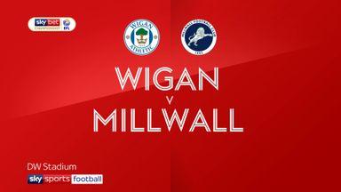 Wigan 1-0 Millwall