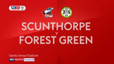 Scunthorpe 1-0 Forest Green