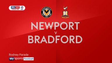 Newport 2-1 Bradford