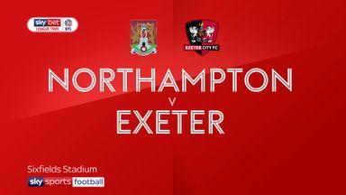Northampton 2-0 Exeter