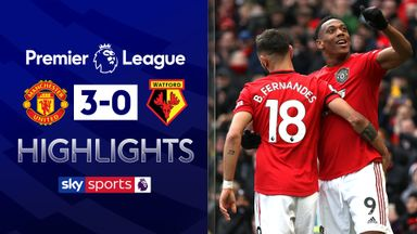 Fernandes scores as Utd beat Watford