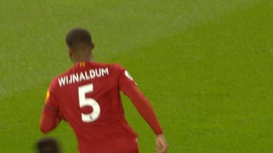 Wijnaldum gives Liverpool lead (9)