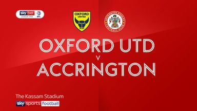 Oxford 3-0 Accrington Stanley