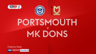 Portsmouth 3-1 MK Dons