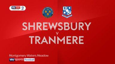 Shrewsbury 2-3 Tranmere