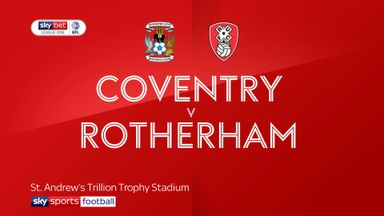 Coventry 1-1 Rotherham