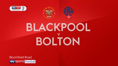 Blackpool 2-1 Bolton