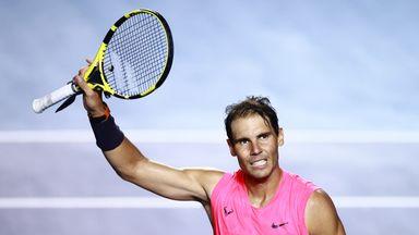 Nadal advances in Acapulco