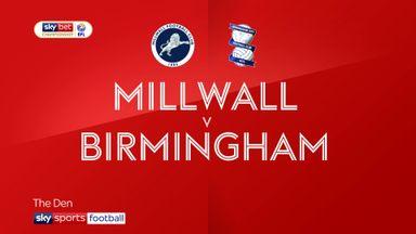 Millwall 0-0 Birmingham