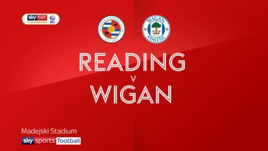 Reading 0-3 Wigan