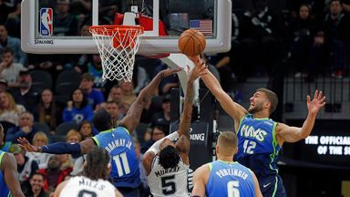 NBA Wk19: Mavericks 109-103 Spurs