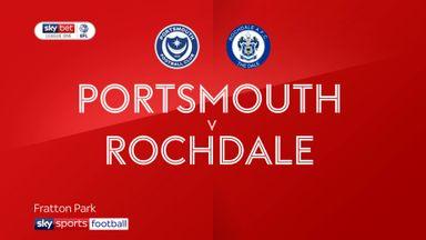 Portsmouth 3-0 Rochdale