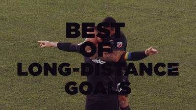 Best long-range goals from the MLS - 2019