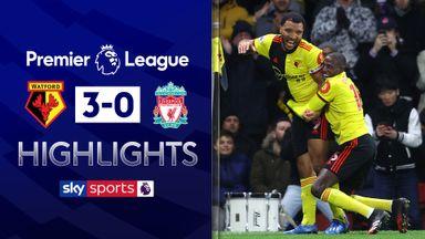 Watford end Liverpool's unbeaten run