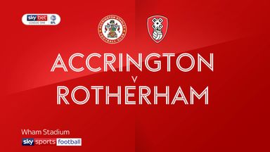 Accrington Stanley 1-2 Rotherham