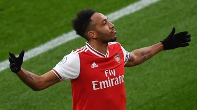 'Aubameyang amongst Premier League elite'